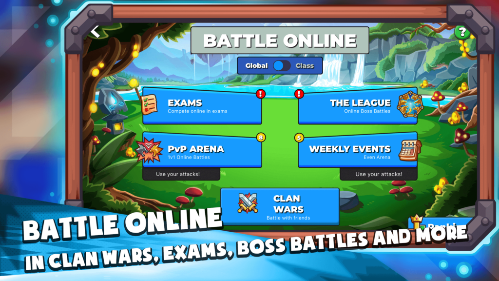 Online Language learning game