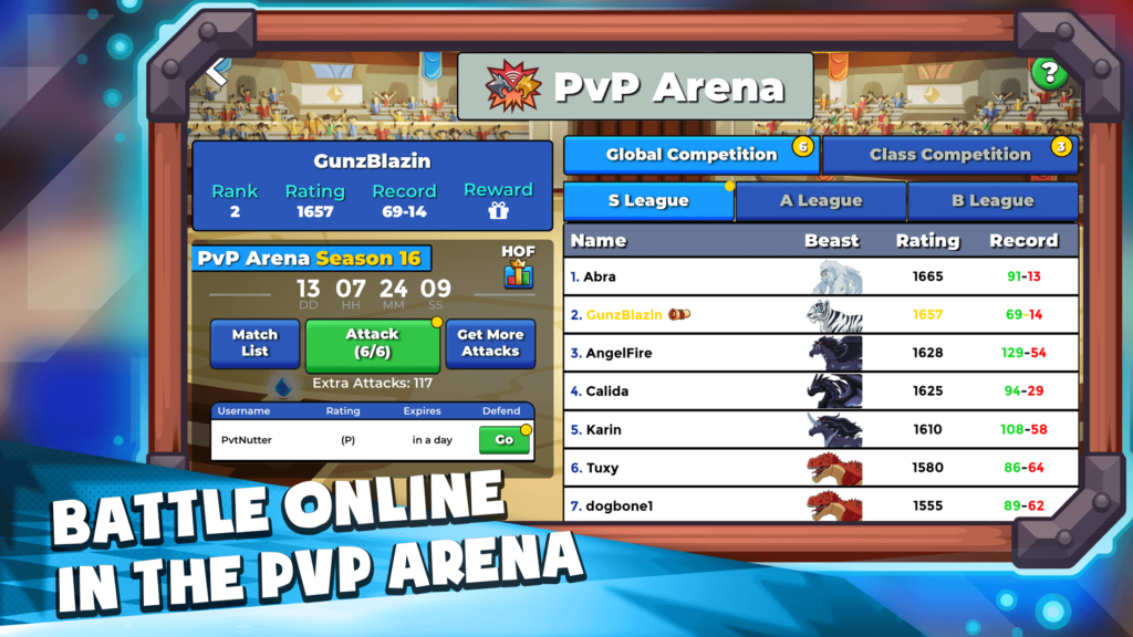 Learn Spanish Game PvP Arena